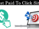 (Paid to Click) Sites