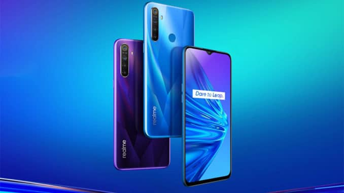 Realme will launch Realme 5 series smartphone in India