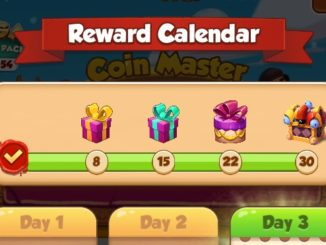 Reward Calendar: free spins feature!