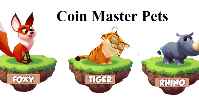 Types Of Pets In Coin Master
